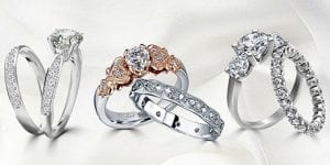 Engagement rings different styles