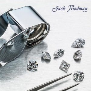 Jack Friedman diamonds and loupe