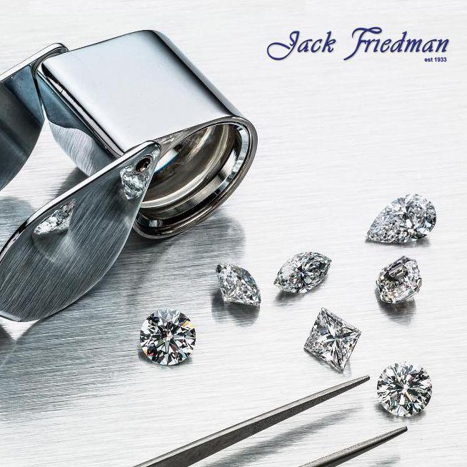 Jack Fredman diamonds and loupe