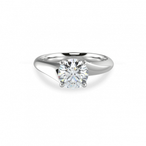 Wedding ring -Round Scarlett
