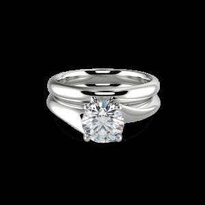 Scarlett Matching wedding band- Diamond
