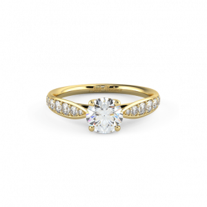 kay pave engagement ring
