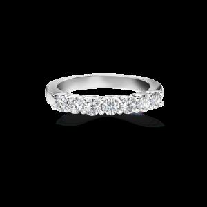 diamond 7 stone la mer ring
