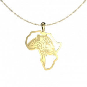 Leopard African map