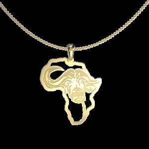Buffalo African map