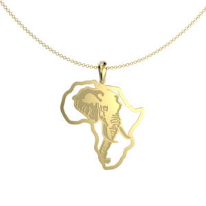 Elephant African map