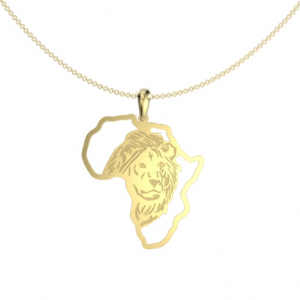 Lion African map