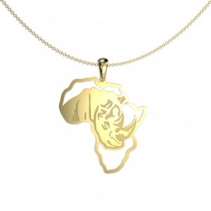 Rhino African map