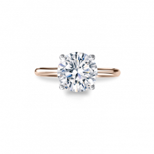 Rose Gold Instinct Solitaire-Solitaire style f