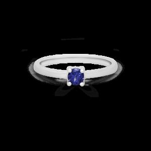 Round Tanzanite Solitaire Ring
