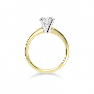 Two Tone Instinct Solitaire-Solitaire style