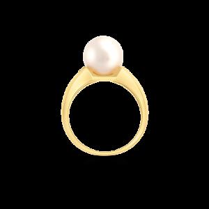 Freshwater Pearl & Diamond Ring