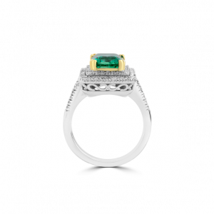 Halo Pave Ring