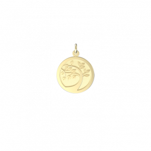 Curved Trunk Disc Pendant