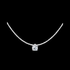Fitted Loop Diamond Pendant