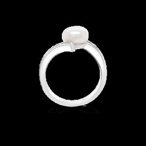 Pearl & Diamond Ring