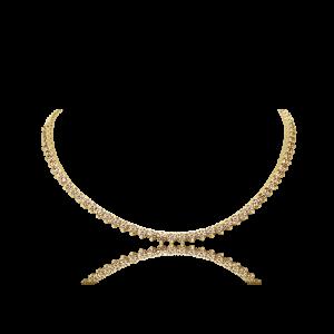Cognac Diamond Tennis Chocker-Diamond Jewellery